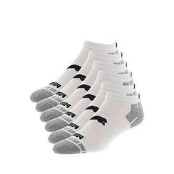 NEW PUMA Men's 6 Pack Quarter Crew Socks