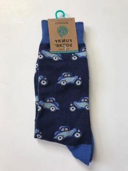 New Funky Socks Men's Dress Casual Novelty Crew Socks Classi