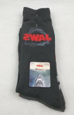New Funky Socks Men's Dress Casual Novelty Crew Socks Shark