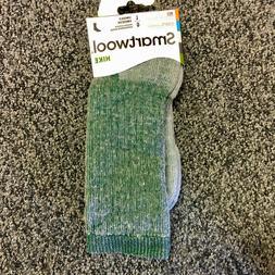 NEW Smartwool Mens Hike Merino Wool Crew Socks - Green Heath