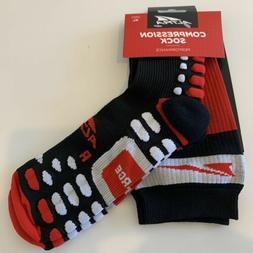 NEW Altra Running Compression Performance High Socks Black S