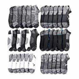 New with Tags Puma Mens 6 Pack Low Cut Quarter Cut Socks Coo