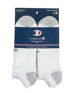 d3d9ef9dcf6 Champion No-Show Socks 6-Pack Double Dry Men s Shoe Size 6-1