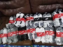 NWT 6-Pair Puma Men's Cushioned Low Cut Socks Cool Cell SZ L