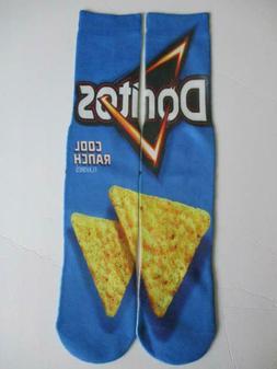NWT Cool Ranch Doritos Socks Chips Snacks Size Medium Men's