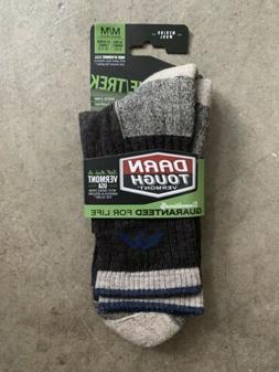 NWT Darn Tough Hiker Micro Crew Cushion Socks - Men's Chocol