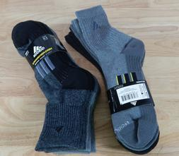 NWT Men's Adidas Performance Climalite High Quarter Socks 4