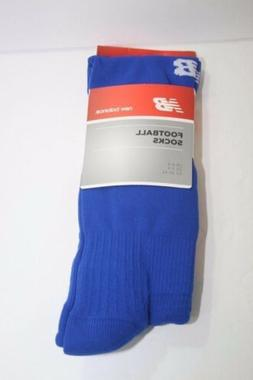 NWT New Balance Royal Blue Mens Football Socks Size Adult 7-