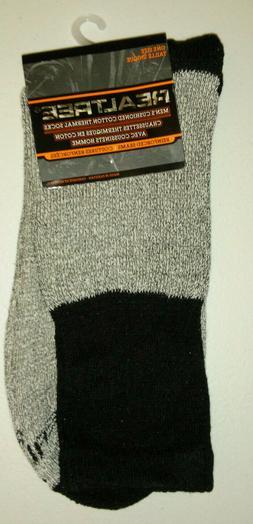 One Size Packs Men's Thermal Realtree Socks Hunting Camping.