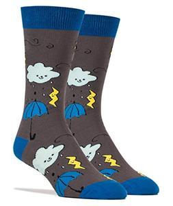 Oooh Yeah Socks ! - Mens Crew - Feeling Blue