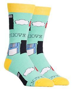 Oooh Yeah Socks Mens Crew Funny Novelty Evolve