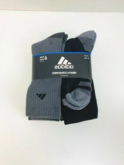 Adidas Original Men's Athletic Cushioned Crew Socks 6-Pack B