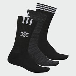 adidas Originals Graphic Logo Crew Socks 3 Pairs Men's