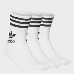 adidas Originals Mid Cut Crew Socks 3 Pairs Men's