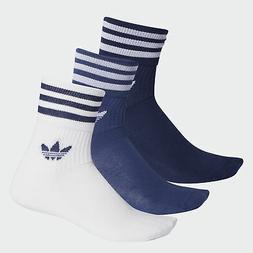 adidas Originals Mid-Cut Crew Socks 3 Pairs Men's
