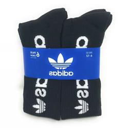 Adidas Originals Moisture Wicking Cushion Crew Socks Black &