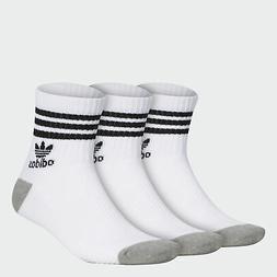 adidas Originals Roller Crew Socks 3 Pairs Men's