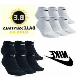 Nike Performance Cotton Cushioned No Show Socks Men's 6 Pack