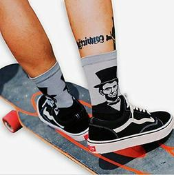 President Printed Mens Dress Socks - HSELL Crazy Patterned F
