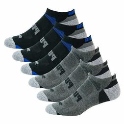 Puma Men's 8 Pack Pairs No Show Socks Available In Black O