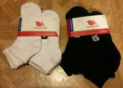 New Balance Quarter Socks Performance 6pack Men's Size 9-12.