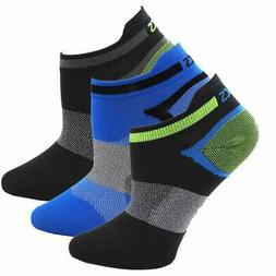 Asics Quick Lyte Single Tab Performance Socks in a 3 Pack Bu