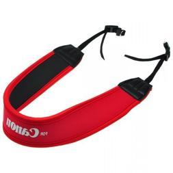 EarlyBirdSavings Red Neoprene Comfort Camera Padded Shoulder