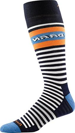 Darn Tough Rugby Mid Calf Light Sock - Men's Navy Small
