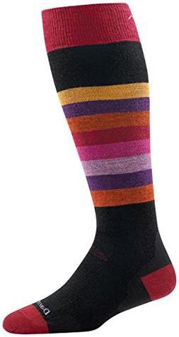 Darn Tough Shortcake OTC Cushion Socks - Women's Black Large
