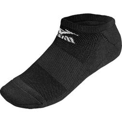 Mizuno Performance No-Show Sock - Black - Large