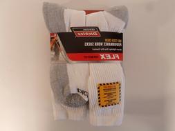 Dickies Size 12-15 Big and Tall Mens Comfort Crew Work Socks