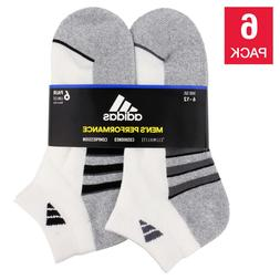 Adidas Socks Low Cut Sport Cushioned - White  Shoe Size 6-12