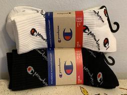 socks mens crew white and black