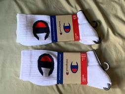 Champion Socks Mens Crew White