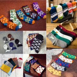 Socks Unisex Men Women Dress Casual Socks Multi-Color Gradie