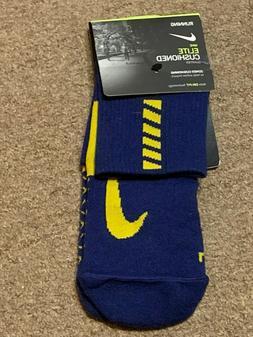 Nike Spark Elite Cushion Ankle Running Socks Blue SX5463-478