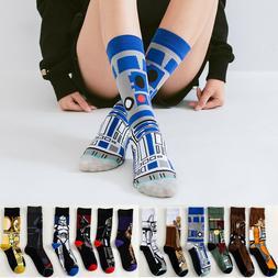US! Star Wars Stockings M.Yoda Cosplay Socks Wookie Jedi Kni
