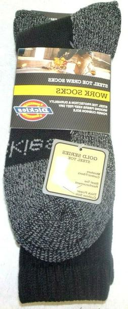 a83e41d52 Dickies Men s 2 Pack Steel Toe Crew Socks