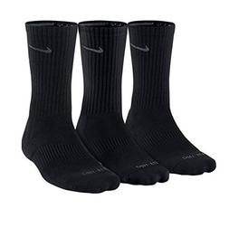 NIKE 3PPK DRI FIT CUSHION CREW COTTON SOCKS ACCESSORIES SOC