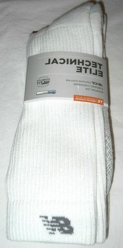 New Balance Technical Elite Crew Socks 2 Pairs Size XL Men's