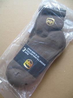 Three Pair ~ANKLET Socks~ Size Men M  United Parcel Service
