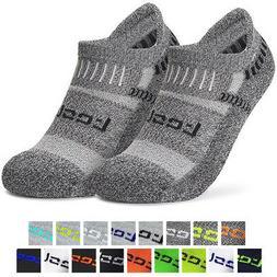 TSLA Tesla TM-MZS04 Low-Cut Comfort Cushion Athletic Socks -