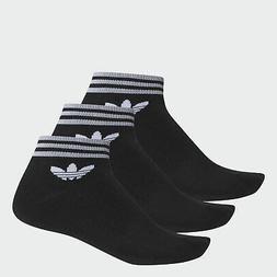 adidas Trefoil Ankle Socks 3 Pairs Men's