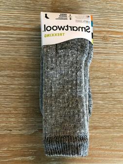 SmartWool Trekking Heavy Crew Socks –Gray, Hiking Hunting