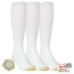 Gold Toe Men's Athletic Ultra Tec Cotton Over The Calf Socks