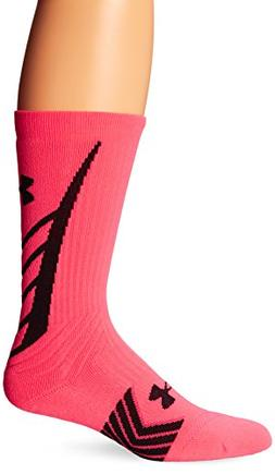 Under Armour Men's Undeniable All Sport Crew Socks , Cerise/