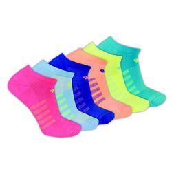 New Balance Unisex Lifestyle No Show Socks 6 Pairs