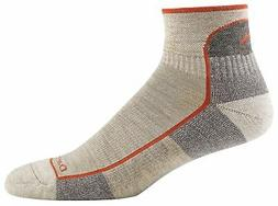 Darn Tough Vermont Men's 1/4 Sock Cushion 1905,Oatmeal,US M