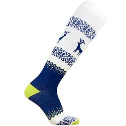 d7498348a5f27 Pure Athlete Warm Ski Socks - Sweater Deer Sock for Skiing -