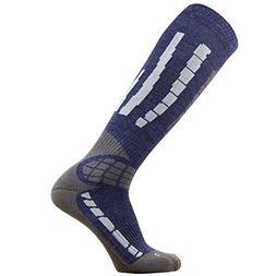 Pure Athlete Ski Socks - Best Lightweight Warm Skiing Socks